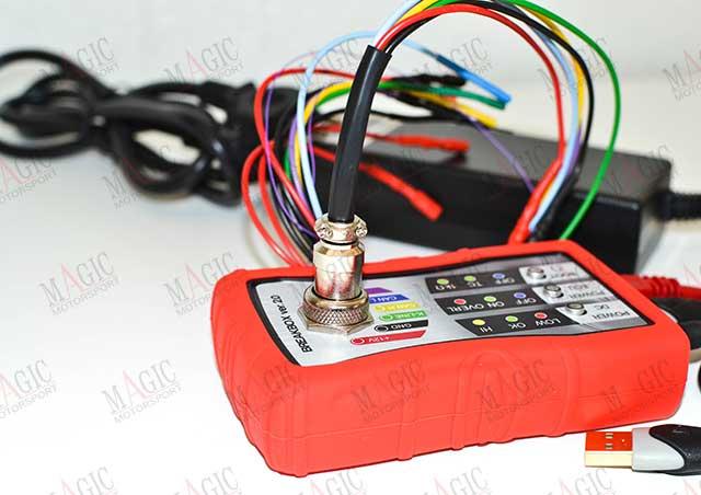 Interfaccia Breakbox ver 2 con software di linee di comunicazione.