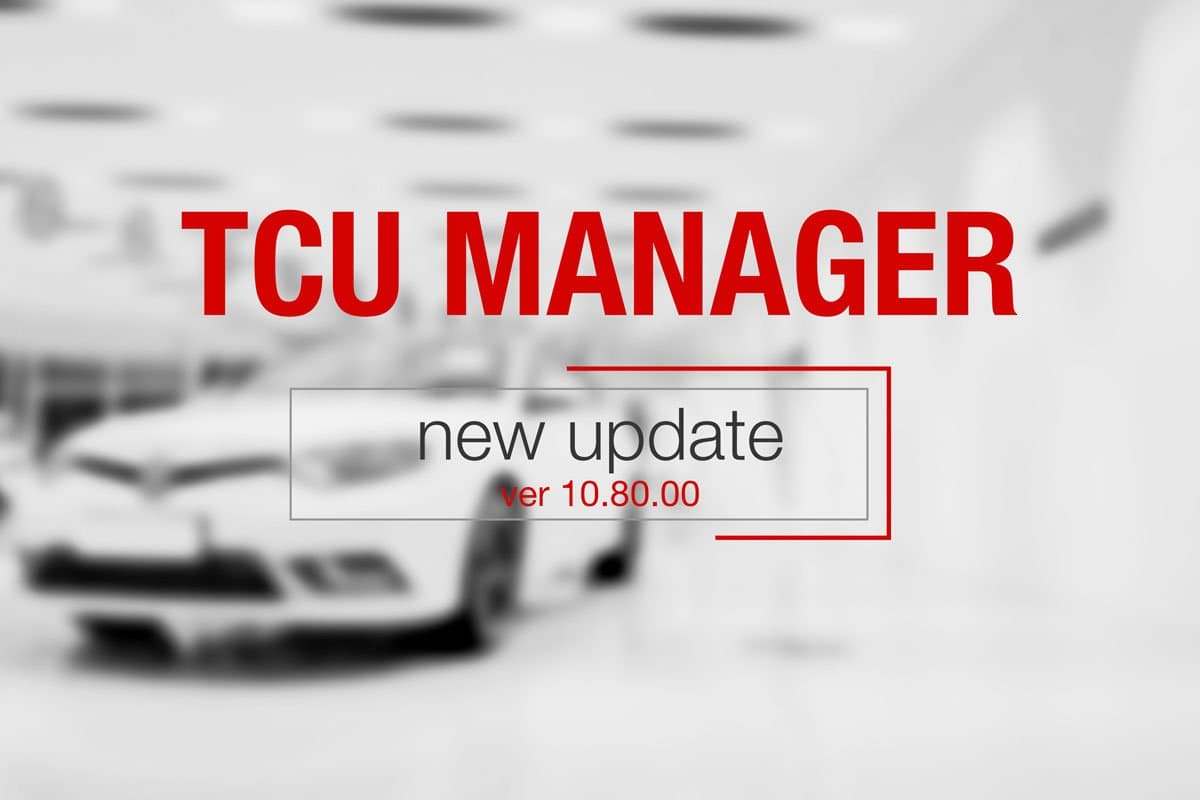 TCU MANAGER ver 10 80 00 released - MAGICMOTORSPORT Official