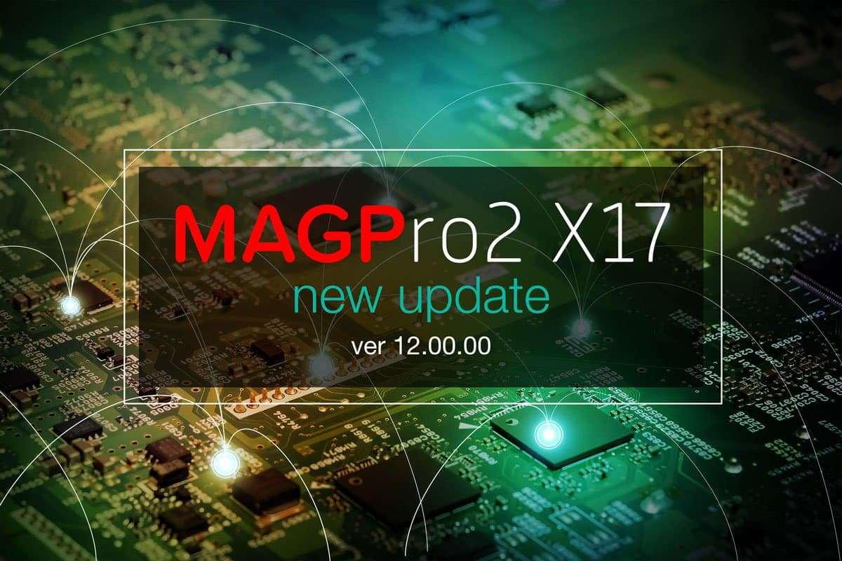 MAGPro2 X17 updated ver 12.00.00