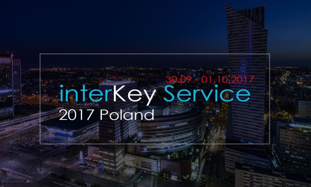 InterKey Service 2017 in Polonia