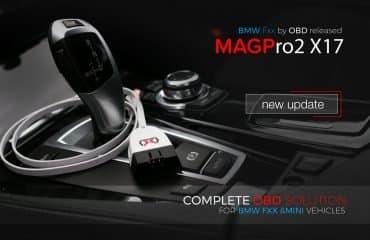 MAGPro2 x17 aggiornato - BMW Fxx via OBD è già disponibile
