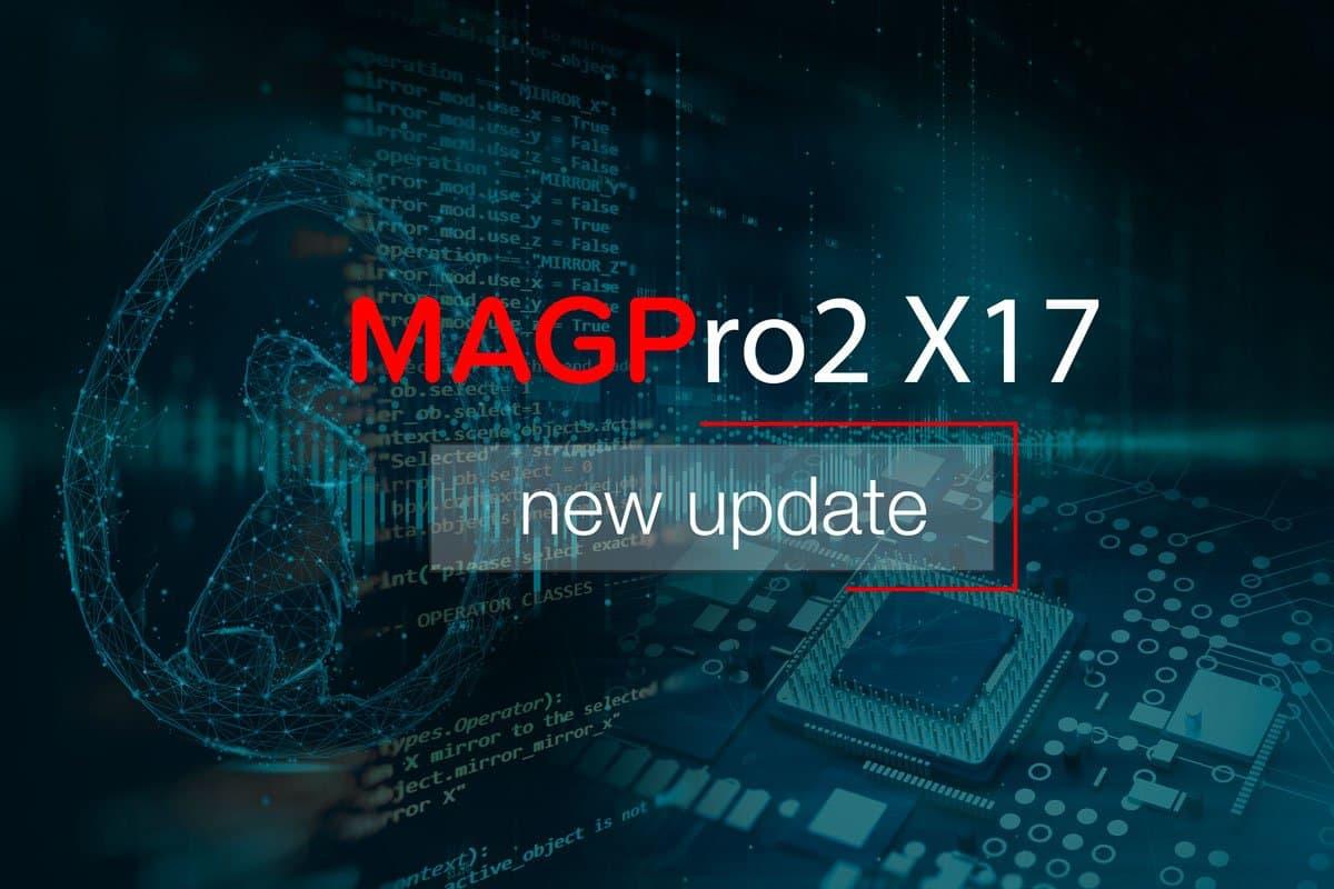 MAGPro2 X17 ver 12.05.00 released