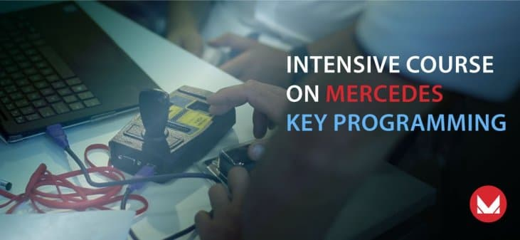 Intensive course on Mercedes key programming, Rome - Italy