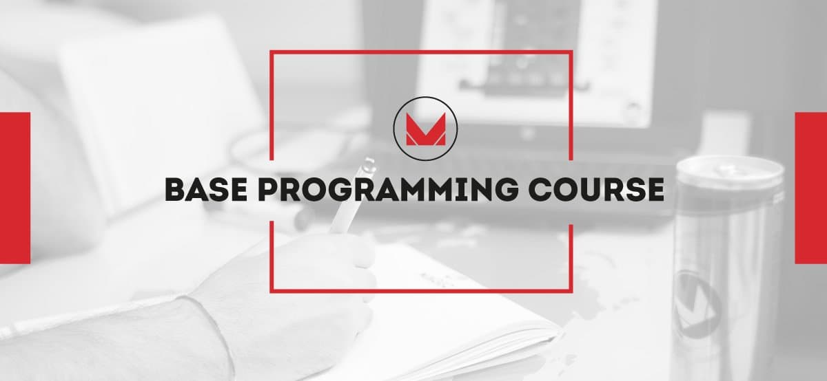 Base programming course for mechatronics
