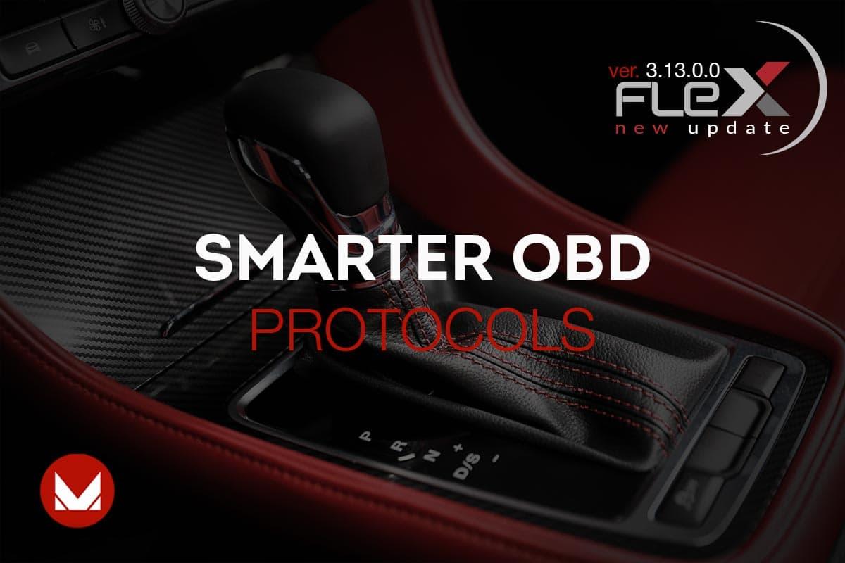 Flex ver 3.13.0.0 - smarter OBD protocols