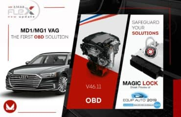 MD1 and MG1 VAG by OBD