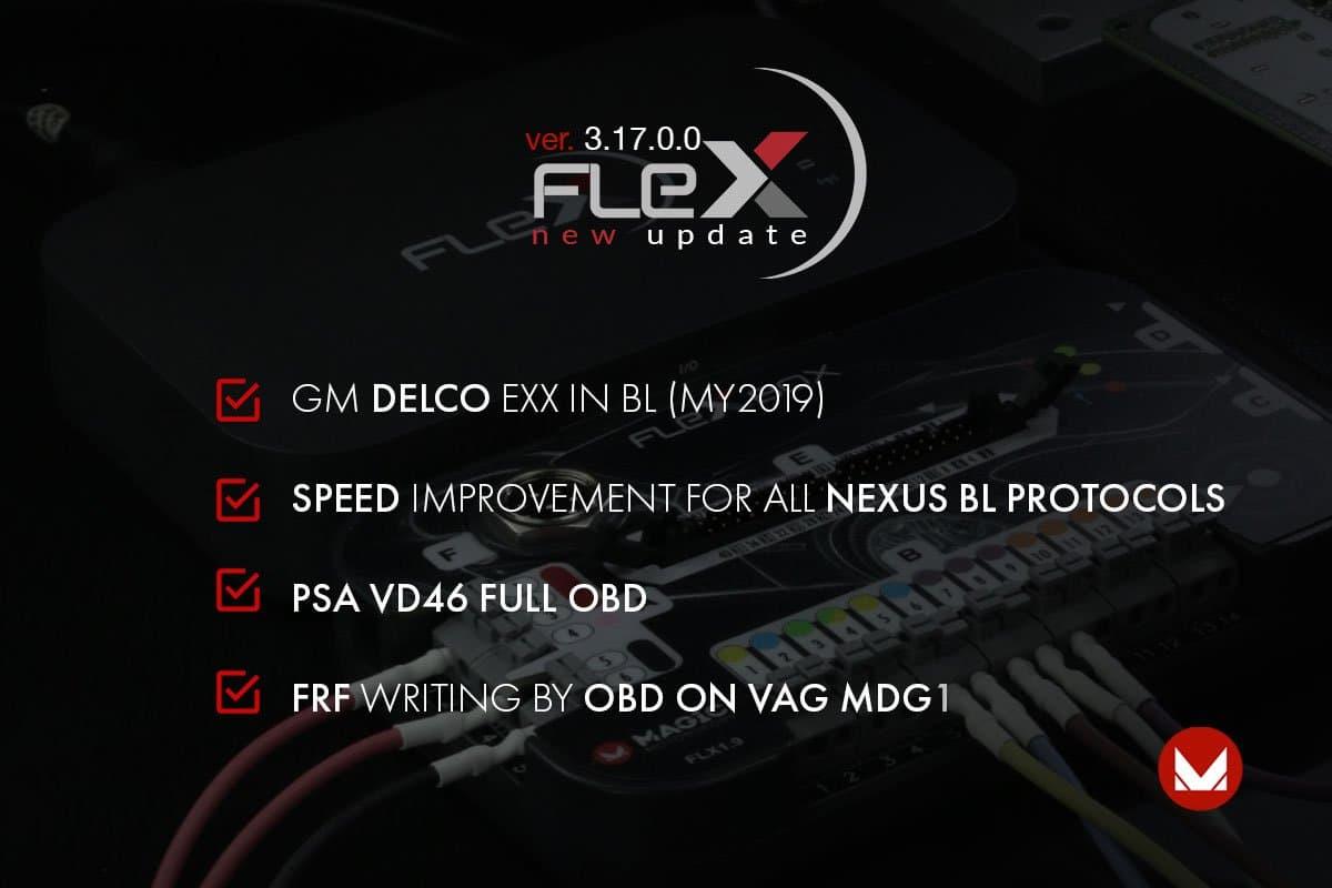 Pronta la versione 3.17.0.0. di FLEX