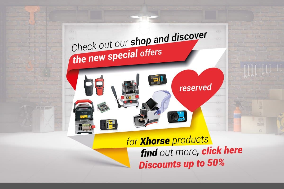 Special offers Xhorse and CarLabImmo