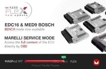 Nuove soluzioni Bench per Bosch EDC16, MED9 e in OBD per Marelli