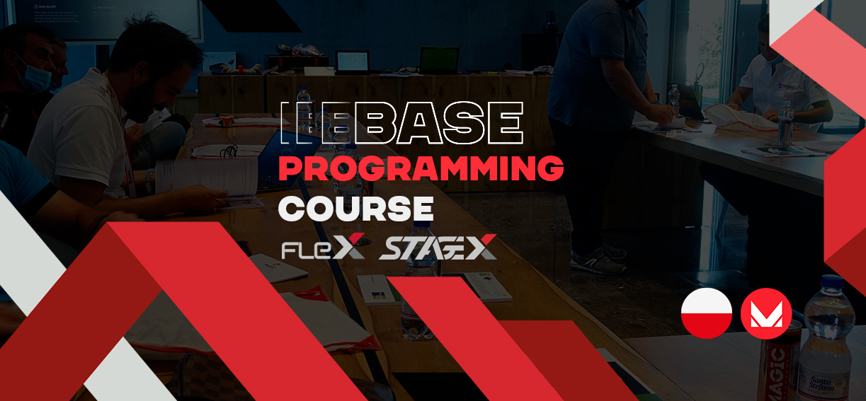 Discover FLEX at a base programming course in Falenty - Poland