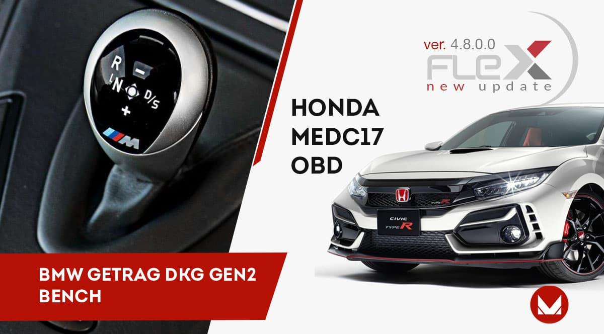 Bench per GETRAG DKG-BMW ed OBD per ECU Bosch Honda