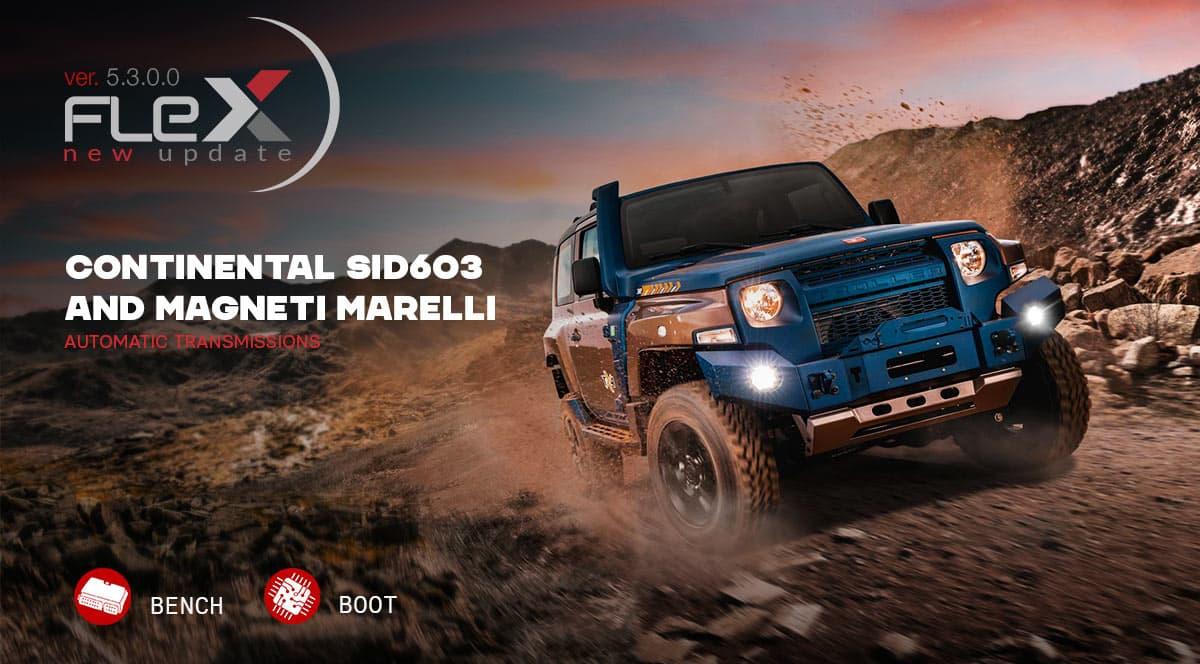 Continental SID603 e trasmissioni automatiche Magneti Marelli