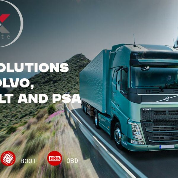 OBD and Boot solutions for Volvo, Renault and PSA