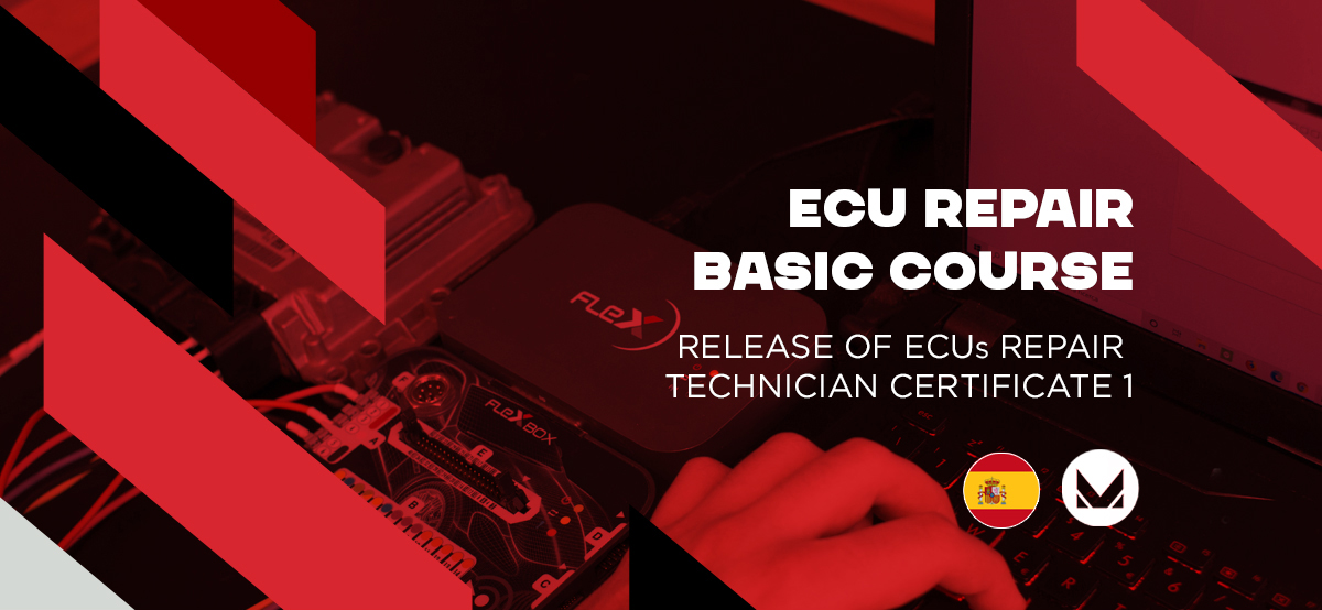 Basic ECU's repair course, Madrid - Spain