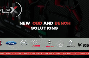 New OBD and Bench solutions for VAG and FCA