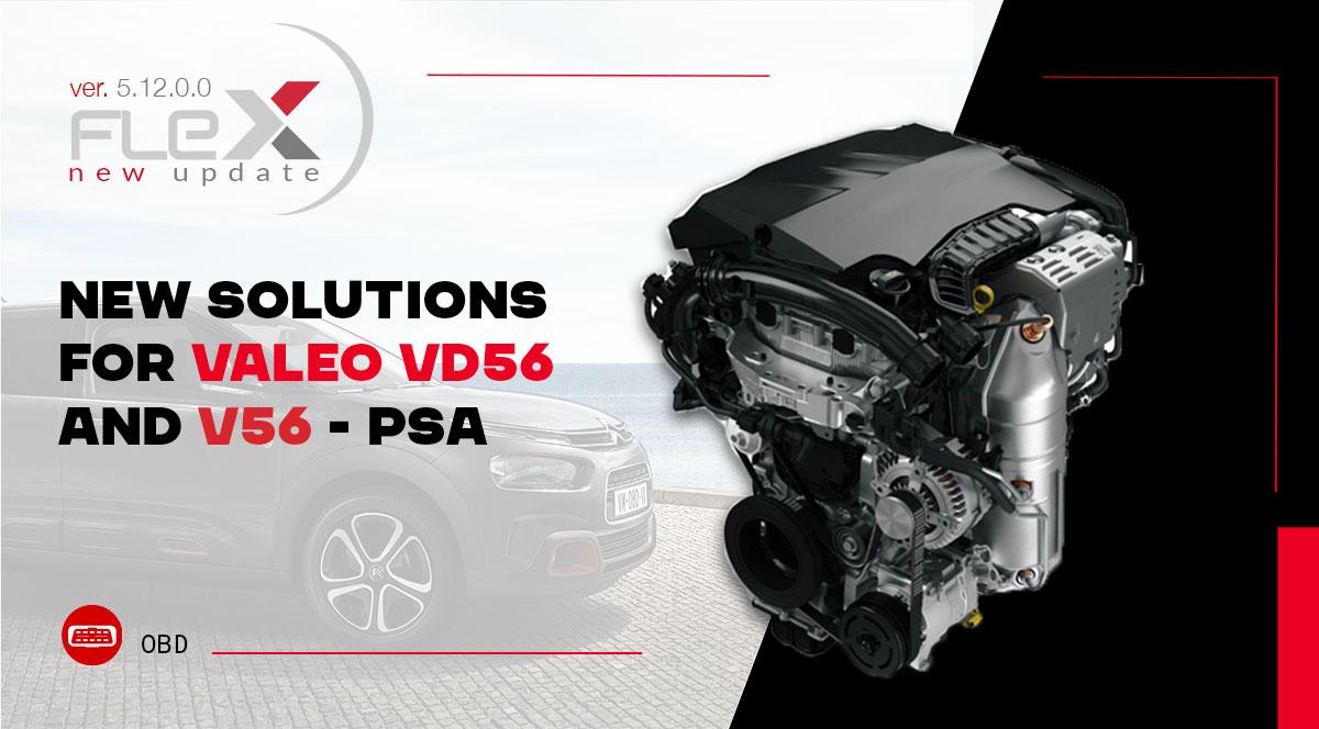 Nuove soluzioni per Valeo VD56 e V56 - PSA