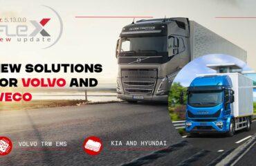 Nuove soluzioni per Volvo, Kia, Hyundai, FCA, Iveco, Man