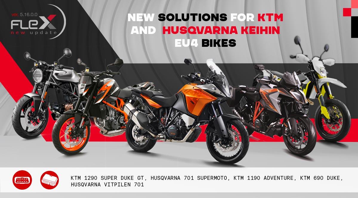 Bench/OBD solutions for KTM & Husqvarna Keihin Bikes